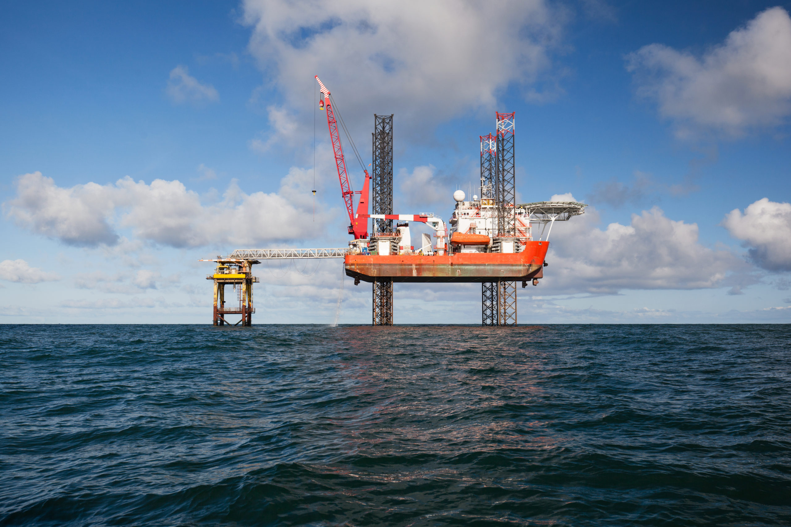 Oil,Platform,During,The,Day